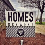 Homes Brewery - front sign