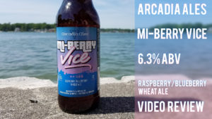 Arcadia Ales Mi-Berry Vice Fruit Beer Review