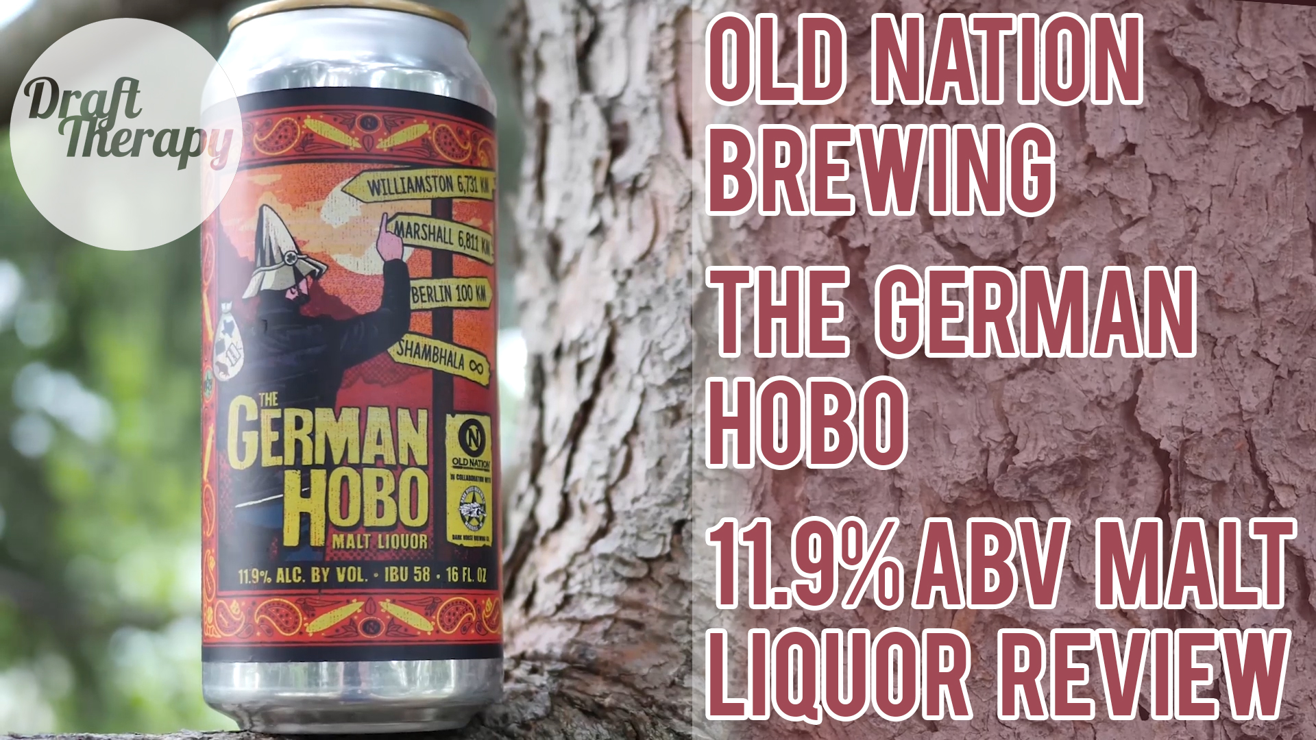 Old Nation Brewing's The German Hobo Malt Liquor Review