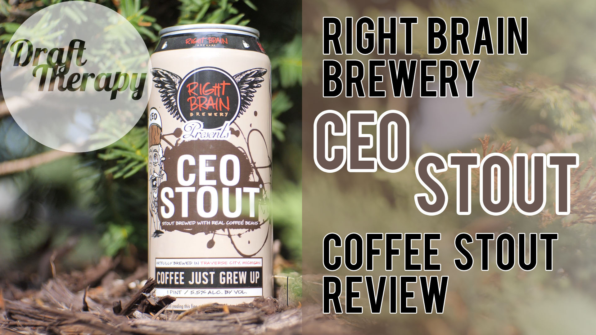 Right Brain Brewery – CEO Stout – Coffee Stout Review