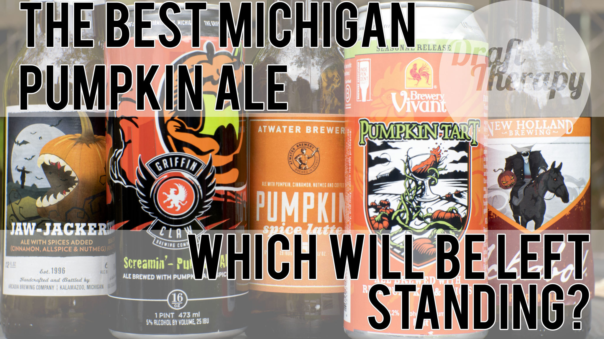 Michigan Pumpkin Ale Drink-Off 2017 – Who Will be the One Left Standing?