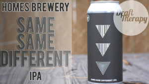 HOMES Brewery – Same Same Different IPA