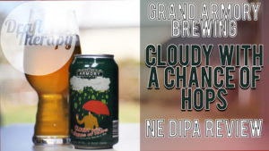 Grand Armory Brewing – Cloudy with a Chance of Hops New England Style Double IPA
