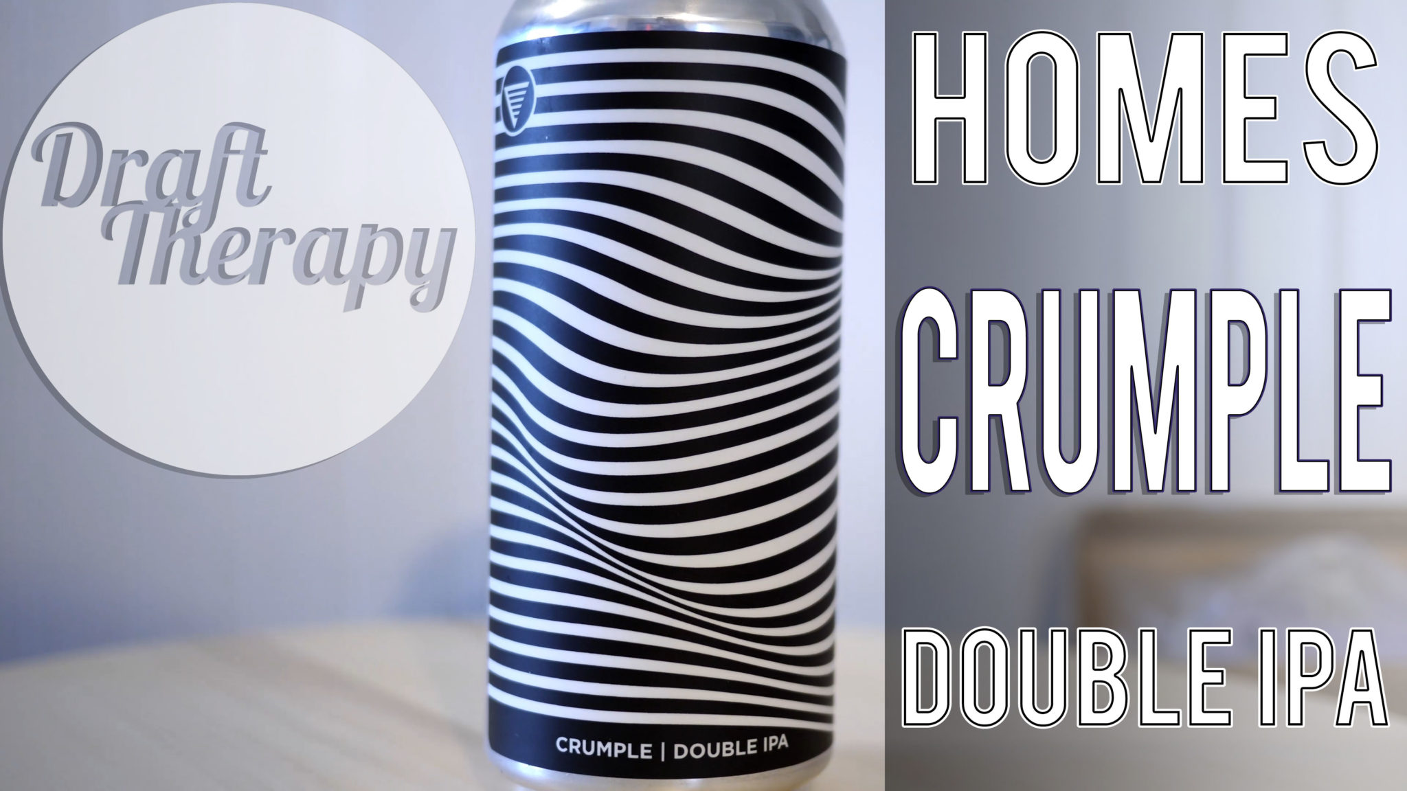 HOMES Brewery – Crumple Double IPA Review – Haze for Days