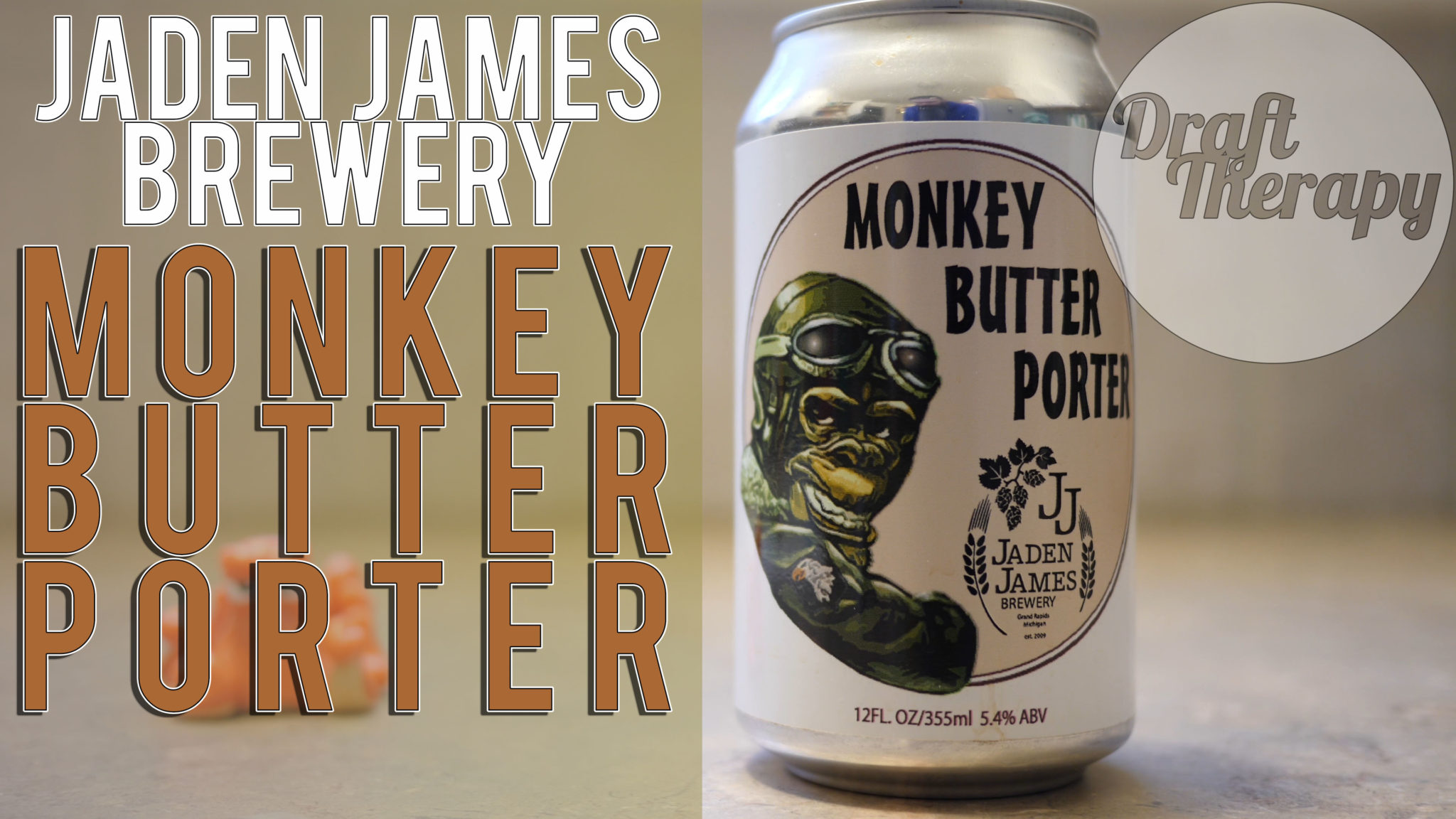 Jaden James Brewery – Monkey Butter Porter Review