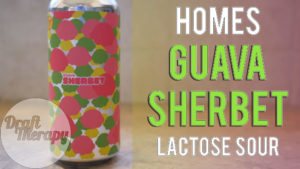 HOMES Brewery – Guava Sherbet Lactose Sour