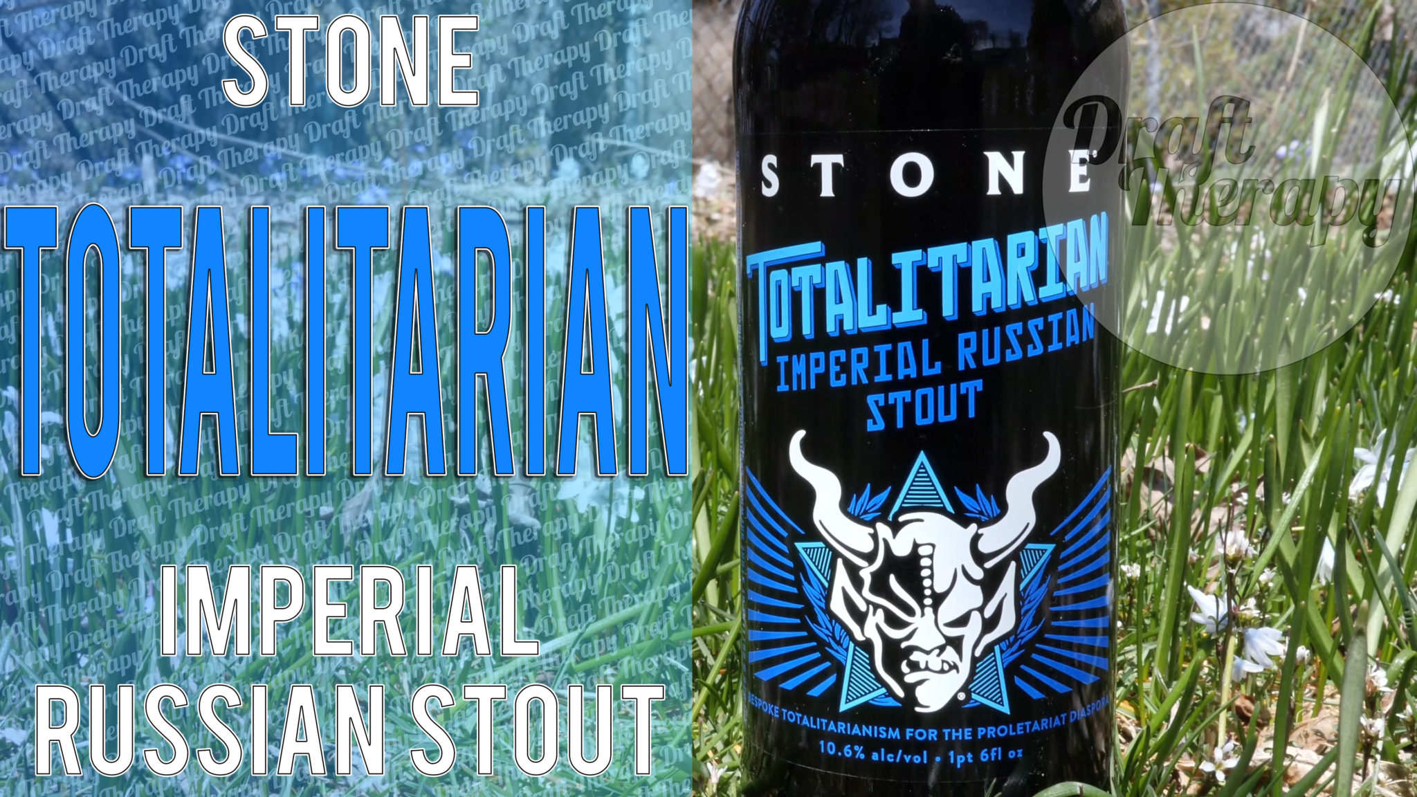 Stone Brewing – Totalitarian Imperial Russian Stout and Nutista Nutbutter
