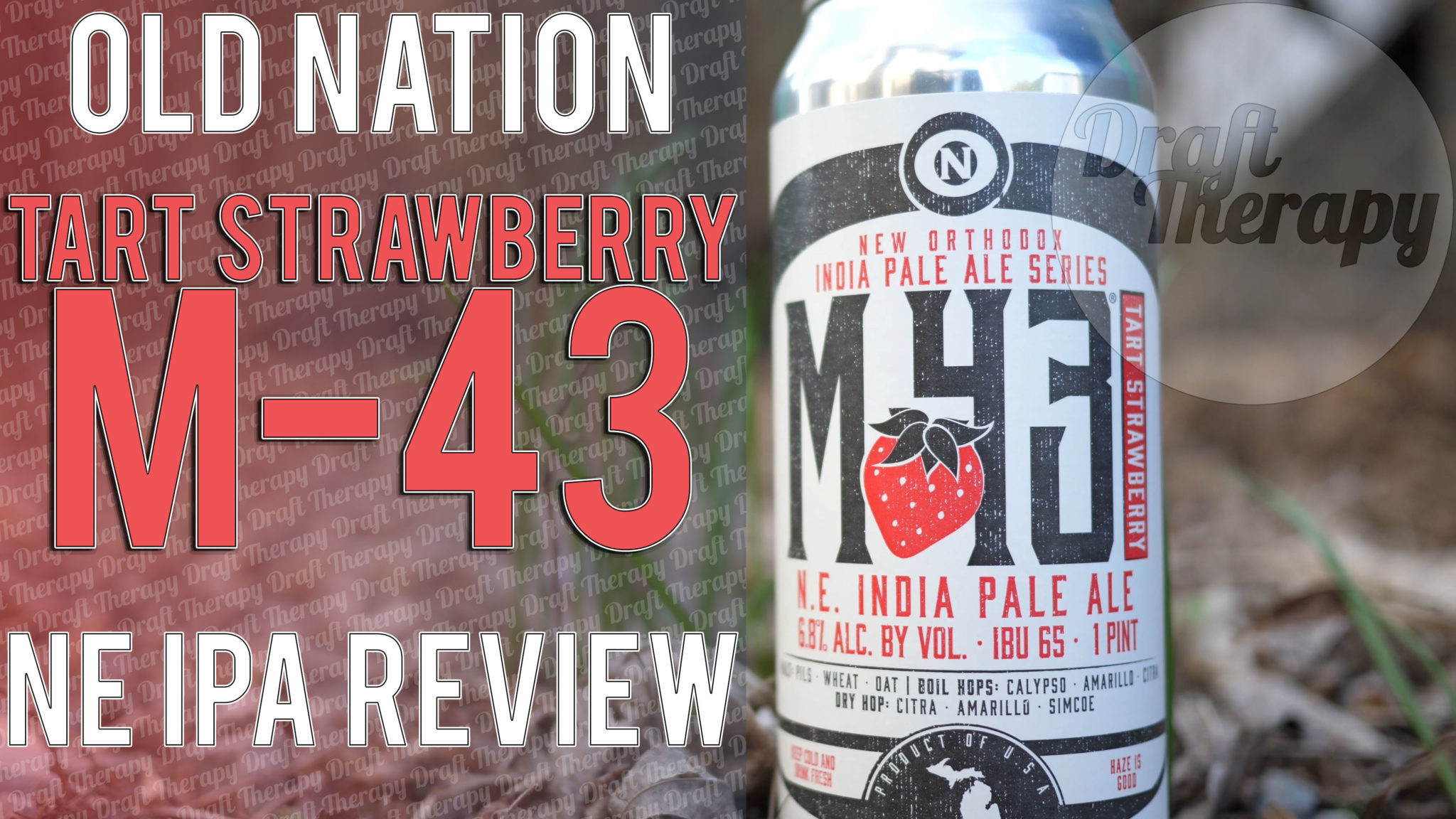 Old Nation Brewing – Tart Strawberry M-43 Review