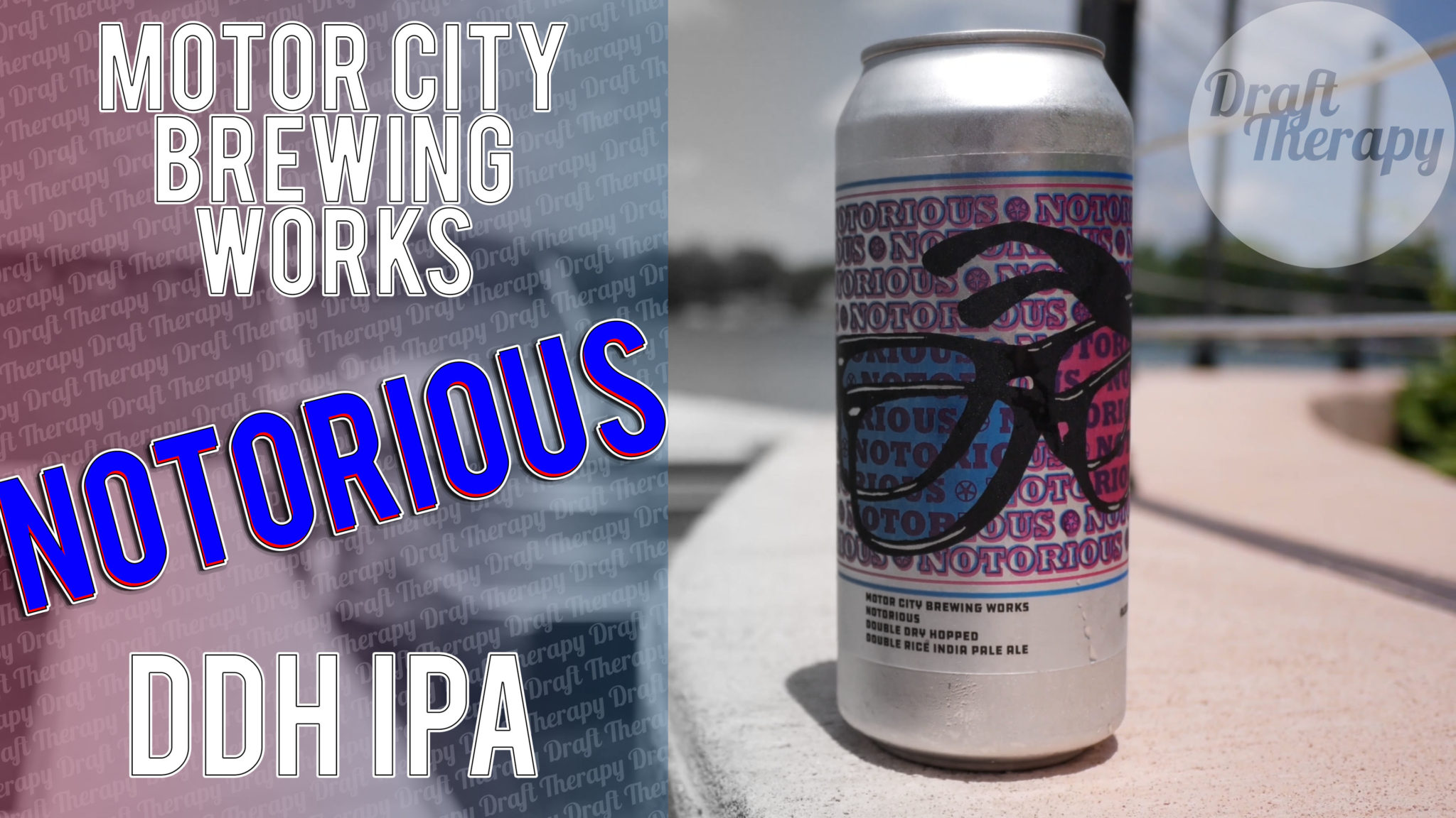Motor City Brewing Works – Notorious DDH Double Rice IPA
