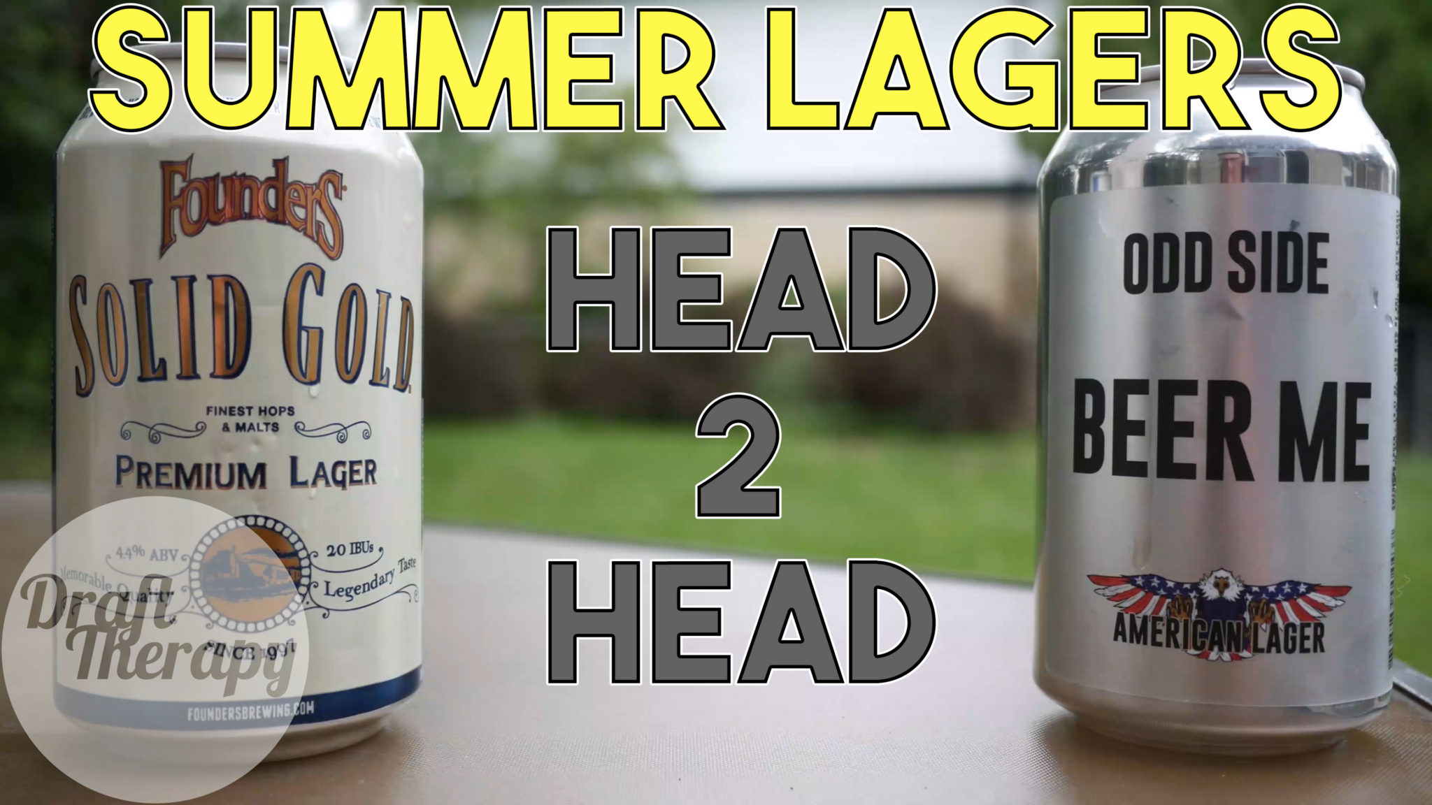 Head 2 Head – Founders Solid Gold vs Odd Side's Beer Me