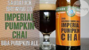 Saugatuck Brewing – 2018 Bourbon Barrel Aged Imperial Pumpkin Chai
