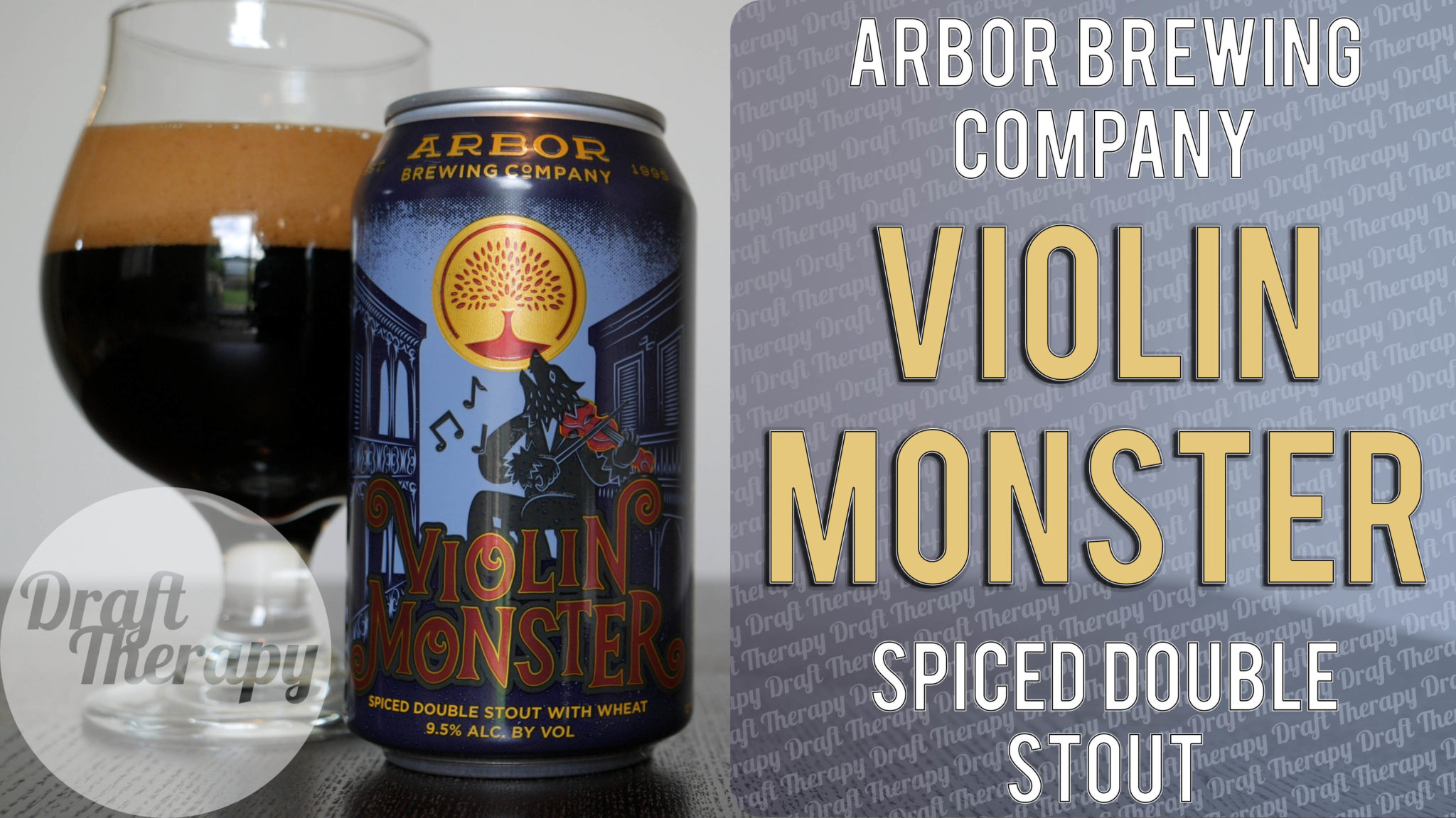 Arbor Brewing Company – Violin Monster Spiced Double Stout