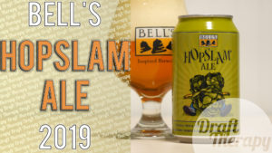 Bell's Hopslam (2019) a Double IPA brewed with Honey
