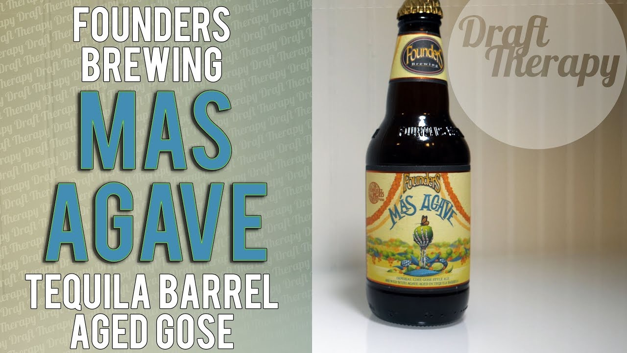 Founders Brewing Company – Mas Agave  – A Tequila Barrel Aged Imperial Gose